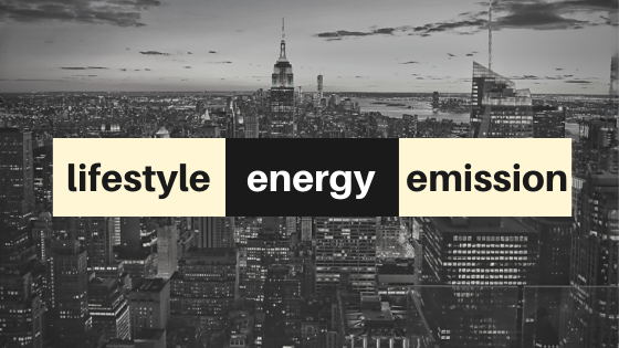 LIFESTYLE VS ENERGY