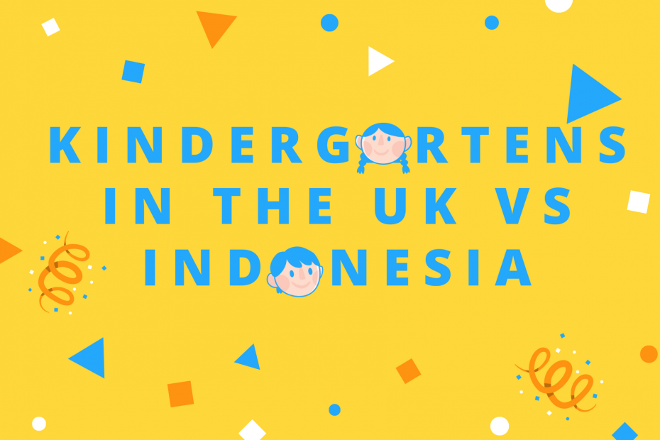 Kindergartens in the UK vs Indonesia